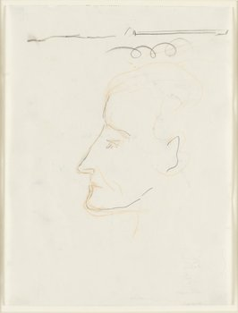 645. Åke Göransson, Porträtt.