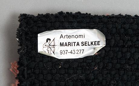 Marita selkee, a wall tapestry. circa 171x117 cm.