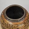 A massive chinese ceramic glazed jar/vase, early 20th century.