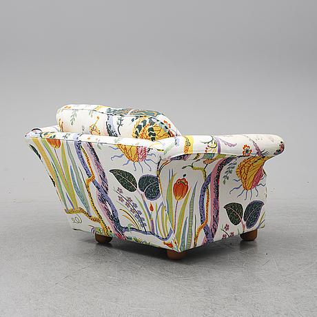 Josef frank, a 'liljevalchs' easy chair, firma svenskt tenn, 2013.