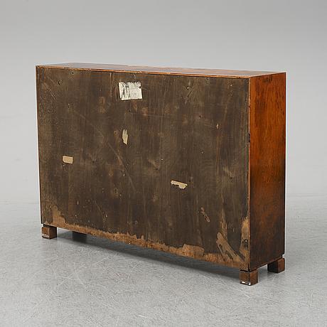 A 1930's birch bookshelf.