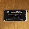 Jean prouvÉ, prouvé raw tabouret solvay, no 087,  g-star raw, limited edition, for vitra 2011.