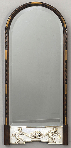 A swedish modern first half of the 20th century mirror.