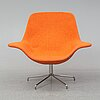Michael sodeau, an 'oyster low' armchair, offecct, 21st century.