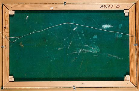 Olavi martikainen, öljy kankaalle, signeerattu ja päivätty -70.