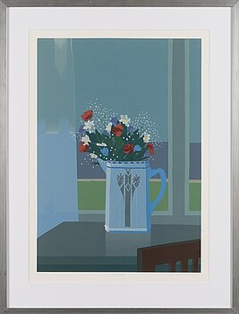 PENTTI KOIVIKKO, serigraph, signed and dated -96, numbered 98/100.
