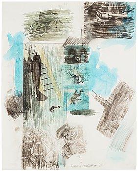 """400. Robert Rauschenberg, """"Untitled""""."""