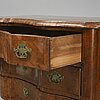 A first half of the 18th century baroque chest of drawers.