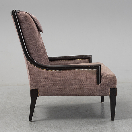 "A mid 20th century easy chair, from the ""cadierbaren"" grand hotel, stockholm."