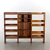 Three first half of the 20th century cabinets by martin nyrup for rud rasmussen, denmark.