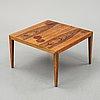 Severin hansen, a rosewood table, haslev, denmark, 1960's.