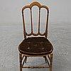 Six chairs, chiavari, italy.