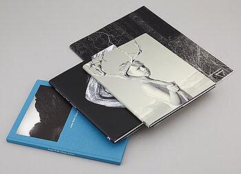 PHOTO BOOKS, 4 books by Swedish photographers Wolff, Grünstein, Ehrs, Keller.