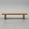 A 'bamse' bench/coffee table by roland wilhelmsson for karl andersson och söner.