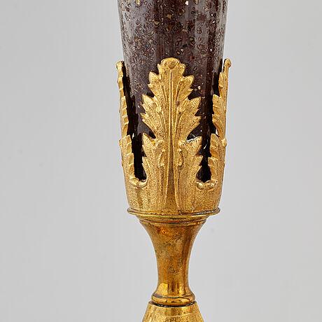 Vaser, ett par, empirestil, 1800-tal.