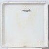 Birger kaipiainen, a ceramic wall plaque, arabia, finland 1950's.
