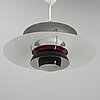 "Poul henningsen, ""ph 5"" ceiling light, louis poulsen."
