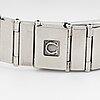 "Omega, constellation ""mini"", wristwatch 23 mm."