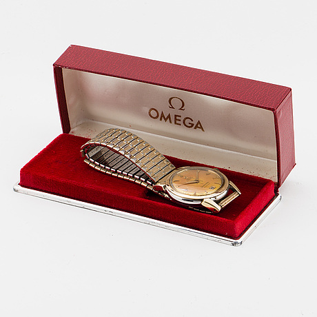 Omega, seamaster calendar, wristwatch, 35 mm.