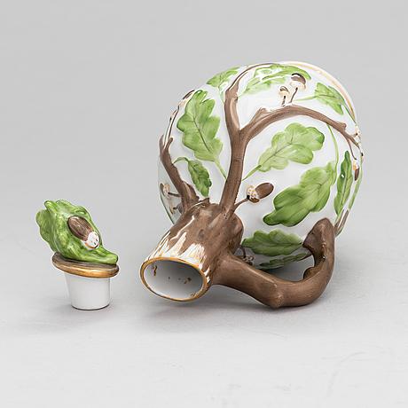 A mid-20th-century lomonosov porcelain carafe.