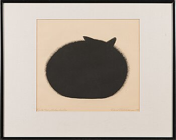 FRANS TOIKKANEN, etching, signed and dated -73, numbered Tpl'a 6/50.