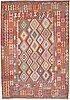 A carpet, kilim, ca 305 x 213 cm.