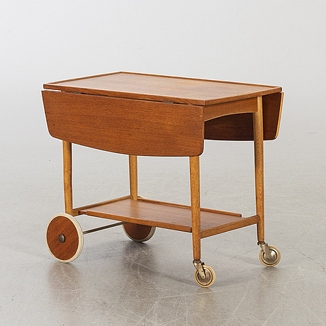 A 1950/60's serving trolley, probably möjligen design ove blidberg ferdinand lundquist, göteborg.