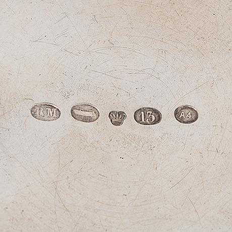 Pikari ja sirotinlusikka, hopeaa, otto roland mellin 1882 ja gustav roland mellin 1897.