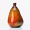 Hans hedberg, a faience sculpture of a pear, biot, france.