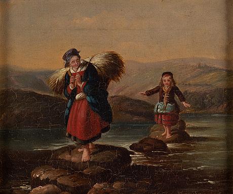 English artist, 19th century, oil on canvas.