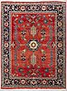 A carpet, old noth west persian, ca 259 x 183 cm.