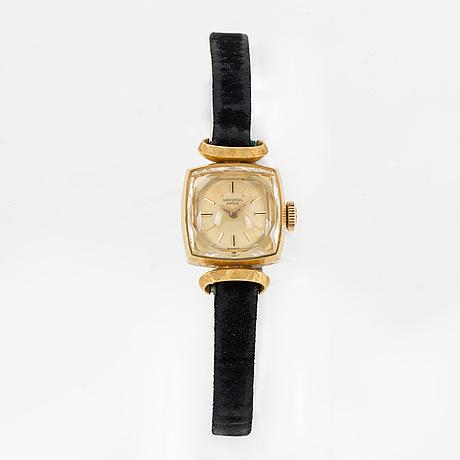 Universal, wristwatch, 15 x 15 mm.