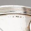 A swedish 20th century silver dish and cover, mark of cf carlman, stockholm 1915.