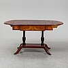 A danish empire table, first half of the 19th century.