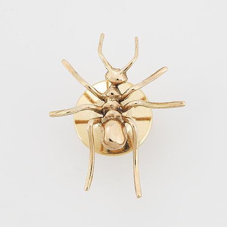 Brosch, i form av insekt, möjligen olle ohlsson.