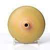 Berndt friberg, a stoneware vase, gustavsberg studio, sweden 1973.