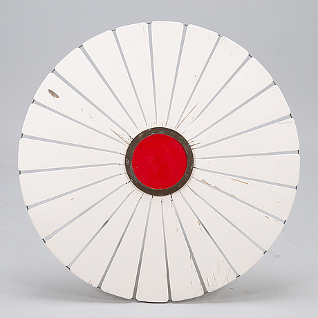 "Alvar aalto, trÄdgÅrdsbord, ""aurinko-serien"". artek 1960/1970-tal."