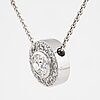 Patrik af forselles, pendant18k white gold with diamonds.