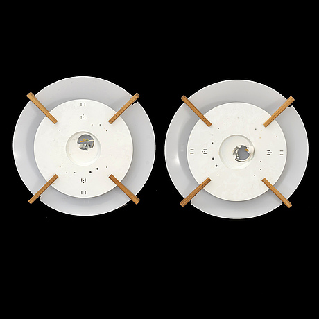 "A pair of uno och Östen kristianssson ""plafo"", luxus, osby ceilinglamps."