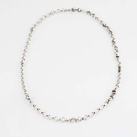 Cecilia johansson a rock crystal necklace.