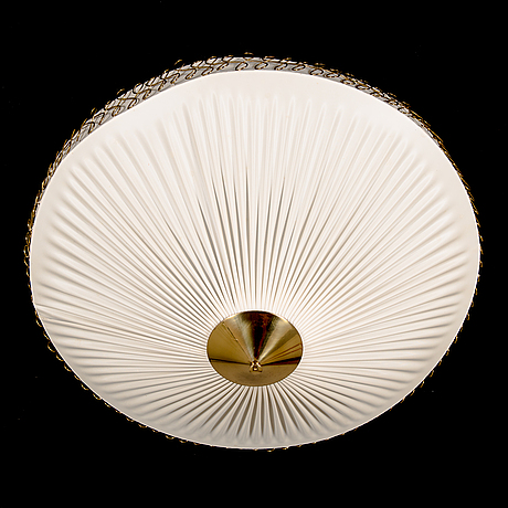 A mid 20th century ceilinglamp er 126 from itsu, finland.