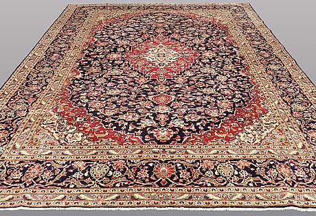 Matto, kashan, ca 446 x 298 cm.