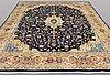 Matta, kashmar, signerad, ca 387 x 298 cm.