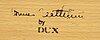 """Bruno mathsson, karmstol, """"eva"""", dux, 1900-talets senare del."""