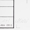 Ann-sofi sidÉn, pigment print, signerad as sidén med blyerts. ap.