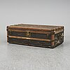 A goyard vintage trunk from around 1900.