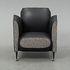 A 'hotel 21' easy chair by javier mariscal for moroso designed 1995.