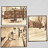 Henry b. goodwin, three photo gravures from the book vårt vackra stockholm signed in the negative.
