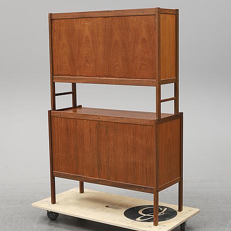 A 1960's teak shelf.