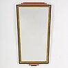 An art deco mirror, 1930s.